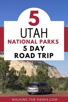 Take on the great adventure! Discover 5 Utah National Parks in just 5 days (of course you can take more- lol) Here's the scoop on how to do it all. Complete Itinerary for Zion, Bryce Canyon, Arches, Canyonlands and Capitol Reef. Capitol Reef National Park, Us National Parks, Road Trip Usa, Usa Trip, Perfect Road Trip, Canyonlands National Park, Travel Usa, Travel Tips, Bryce Canyon