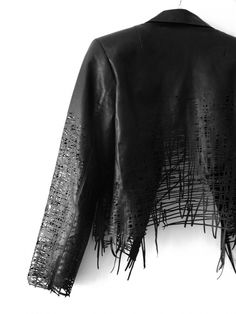 drawn lasercut jacket  Elvira Hart