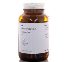 detoxification capsules, £40.00
