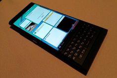 Reveladas fotos do BlackBerry com Android e teclado físico