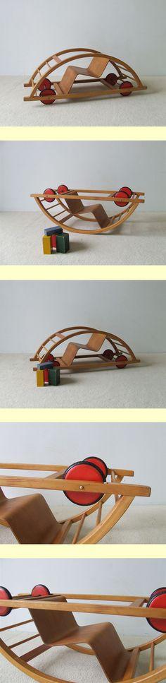 Childrens rocking chair (restored)