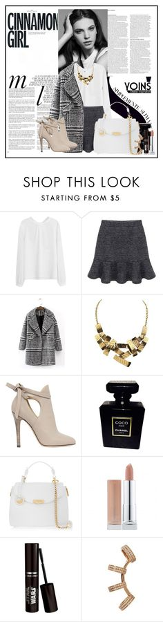 """""""Yoins.com 1...."""" by cindy88 ❤ liked on Polyvore featuring мода, ASOS, Whiteley, Jimmy Choo, Chanel, Versace и yoins"""