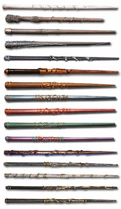 more good ideas for wand patterns and colours...great way to use up chopsticks