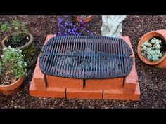"How to Make a Brick Grill - DIY Temporary Brick Hibachi Grill. ""If you want it to be more than ""temporary"" spend the money for fire rated bricks. They will hold up. General bricks will crack, flake, and eventually fall apart from the heating and cooling. Homemade Grill, Diy Grill, Diy Hibachi Grill, Bbq Diy, Parrilladas Ideas, Backyard Projects, Diy Projects, Brick Grill, Diy Smoker"