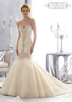 Bridal Gowns from Mori Lee by Madeline Gardner http://www.madeleinesbridalboutiqe.com
