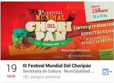 Viernes de noticias con sabor a chori!!! Se viene el III Festival Mundial del Choripán y #CLT dice presente!!! Más info https://www.facebook.com/events/1684445165163306/