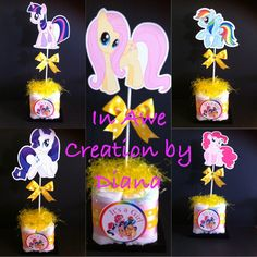 My little Pony Baby Shower My little Pony by InAweCreationbyDiana