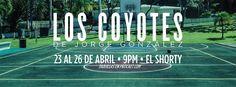 "Los Coyotes @ Teatro Israel ""Shorty"" Castro, Santurce #sondeaquipr #loscoyotes #elshorty #teatropr #santurce #sanjuan"