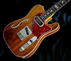 Fender Tele Thinline w Charlie Christian pickup