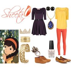 """Sheeta"" by casualanime on Polyvore"