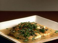 Chicken Piccata from Giada. This was delish with garlic mashed potatoes and asparagus.