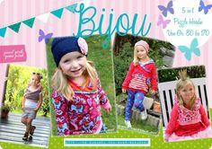 Ebook Bijou - Puzzle Hoodie von 80 - 174 ♥ von rosarosa auf DaWanda.com