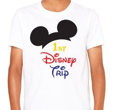 FOR A LIMITED TIME - Use code SUMMERSALE to save 10% off of your order!   Disney Trip . Disney Shirts . Famiyl Disney Shirts . My First Disney Trip Shirt . Disney Family Shirts. Disney Vacation Shirts .