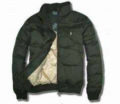 Ralph Lauren Polo Mens outlet Down jacket In Green