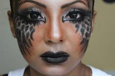 fallen angel costume makeup - Google Search