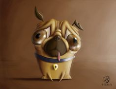 D. Pug by TheDude-In-NavyBlue on deviantART