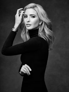 "1/2 Role Models. Ivanka Trump is classy, successful, driven and learned how to step beyond her father's shadow to run her own business and campaign, ""Women Who Work""."