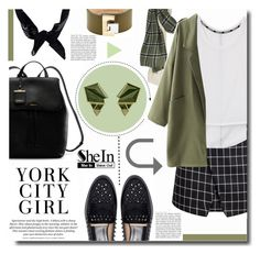"""""""SheIn Contest Entry"""" by kts-desilva ❤ liked on Polyvore featuring Rebecca Minkoff, Zara, H&M, DKNY, Boohoo, Nak Armstrong and Balenciaga"""