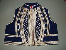 GREEK TRADITIONAL COSTUME YOUNG BOY'S DECORATIVE EMBROIDERED VEST