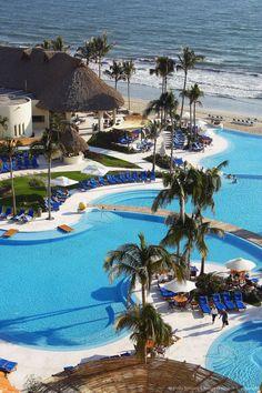Hotel Grand Velas, Nuevo Vallarta in Bahia Banderas, near Puerto Vallarta. Jalisco, Mexico
