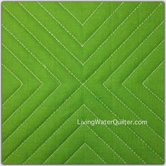 Free-Motion Ruler - Lines Quilting Stencils, Quilting Templates, Quilting Rulers, Longarm Quilting, Free Motion Quilting, Quilting Tips, Modern Quilting, Quilting Stitch Patterns, Machine Quilting Patterns