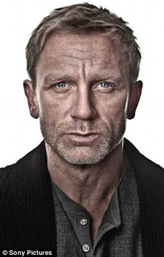 Daniel Craig - he looks dirty and scruffy and still oh so hot