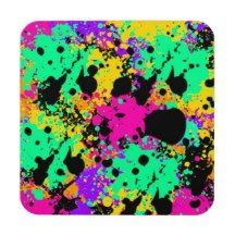 Psychedelic Art Products Drink Coaster