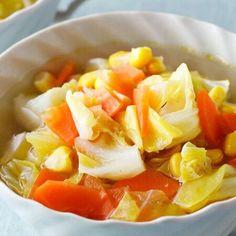 1日を元気に過ごすためには、朝起きたあとの食事がとても大切。「午前中に動くのがつらい…」という人は、スープを飲んでからだを隅々まで温めるのがおすすめです。そこで今... Fruit Salad, Food, Fruit Salads, Essen, Meals, Yemek, Eten