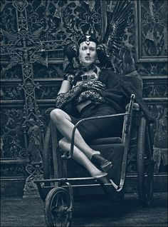 Kate Moss by Steven Klein for W Magazine, March 2012  Styled by Edward Enninful