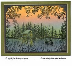 SC87~First Stampscapes scene by darleenstamps - Cards and Paper Crafts at Splitcoaststampers