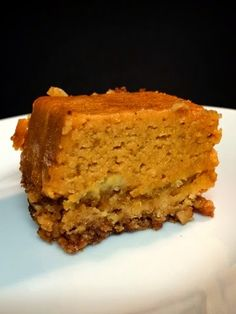 Pumpkin crunch is easily my favorite dessert. And for some reason, I'm really good at baking it. Sure, it's a super simple recipe, but. Thanksgiving Desserts, Holiday Desserts, Just Desserts, Holiday Recipes, Delicious Desserts, Yummy Food, Awesome Desserts, Fall Recipes, Thanksgiving Ideas