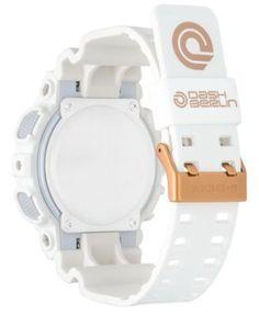 G-Shock Men's Analog-Digital Dash Berlin White Resin Strap Watch 51mm - Limited Edition - White