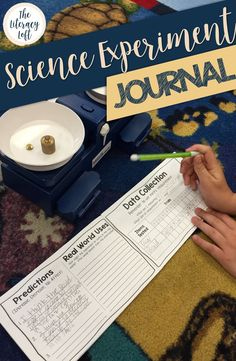 Science Experiment Journal // This booklet is an organizational tool for students to plan, set up, and conduct a Science Experiment for Science Fair or it could be used throughout the year for any Science experiment. Science Fair Experiments, Science Lessons, Science Activities, Science Projects, Fifth Grade, Third Grade, High School Science, Science Notebooks, Data Collection