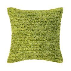 Mia Pillow in Spring Green (Solid Pattern, decorative pillows) | Room Furnishing Accessories, Accent Pillows from Company C #DreamInColor @Company C