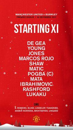 "Manchester United no Twitter: ""Here it is - #MUFC's starting line-up for #MUNBUR... https://t.co/LK972ALlzP"" ."