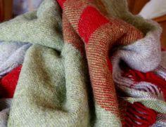 Brushed, handwoven blankets. @elloweaving #handweaving #weaving #handwoven  #woven Plaid Scarf, Blankets, Hand Weaving, Hand Knitting, Blanket, Cover, Comforters, Weaving