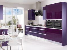 Фиолетовый на кухне