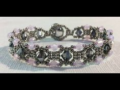▶ (Tutorial) Diamond Sparkle Bracelet ( Video 120) - YouTube