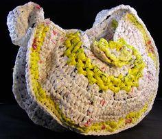 ... Red - Large Purse - Bag - Tote - Handmade Crochet - Shoulder Bag