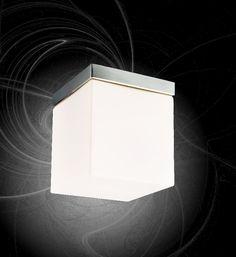 Simple Deckenlampe Decken Leuchte Glas Lampe Wand Beleuchtung Eckig Flur Licht W rfel eBay