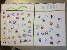 Speech Therapy Ideas- s and sh discrimination. snake sound vs. SHHHHHHH sound! www.childrenstherapycts.com