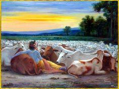 Krishna n cows