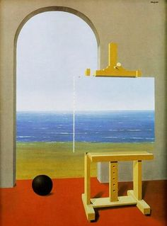 """René Magritte - """"The Human Condition"""", 1935"""