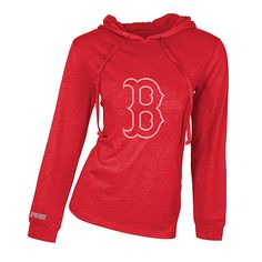 Boston Red Sox - Women's Retreat Hooded Top by Concepts Sport