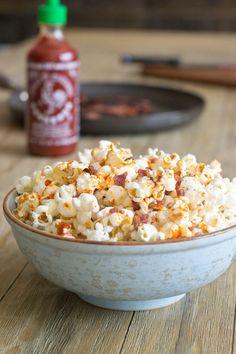 Sriracha Bacon Popcorn Recipe