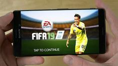 Fifa 19 Mobile is now playable on Android devices, to play this game you need to. Fifa, Android Mobile Games, Uefa Champions League, Games To Play, Android Apk, Baseball Cards, Ronaldo, Lipstick, Places
