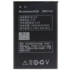 Original Mobile Phone Battery BL214 BL 214 For Lenovo A300T A269I A208t  A218t A269 A305E A316 A360E A316I 1300mAh Free Shipping