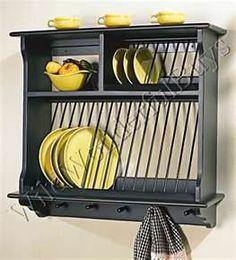 Pinterest Plate Racks And Kitchens