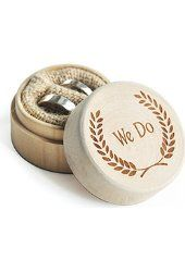 WoodenRingBox Engagement Ring Box Jewelry Wooden Bearer Wedding