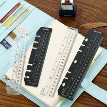 2o pcs Vintage Portable PVC Aujourd'hui Filofax Dirigeants Pochoirs Dirigeants Pour A5 A6 Portable Planificateur Journal DIY Outil Modèle Papeterie(China (Mainland))